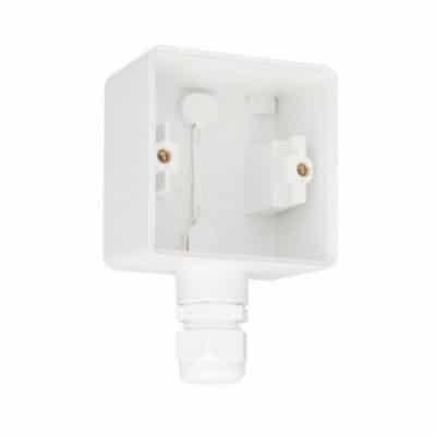 Niko Hydro enkel stopcontact compleet wit