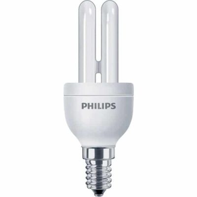 Spaarlamp E14 in diverse wattages tbv buitenverlichting