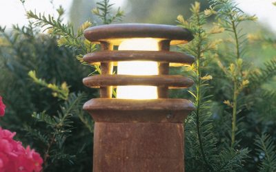 Rusty corten buitenlampen Royal Botania roestige tuinverlichting 40 of 70