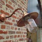 Koperen stallamp buitenlamp Breda TuinExtra
