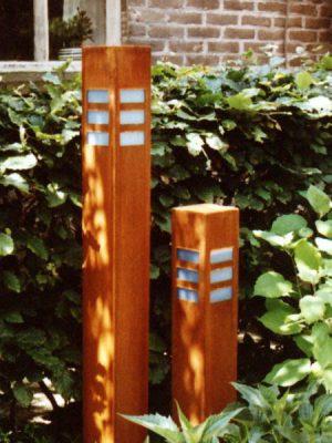 Tuinverlichting cortenstaal Manhattan roestig TuinExtra