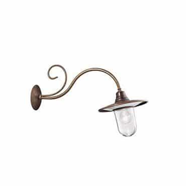 Buitenlamp koper Barchessa Il Fanale 220.25.ort