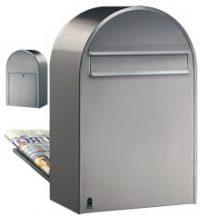 Bobi classic brievenbus roestvrijstaal wand TuinExtra