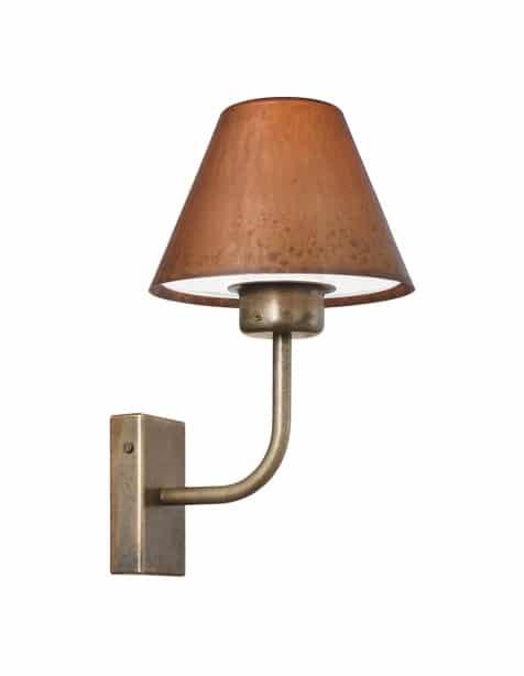 Il Fanale Fiordo buitenlamp verouderd koper 261.01.OR groot