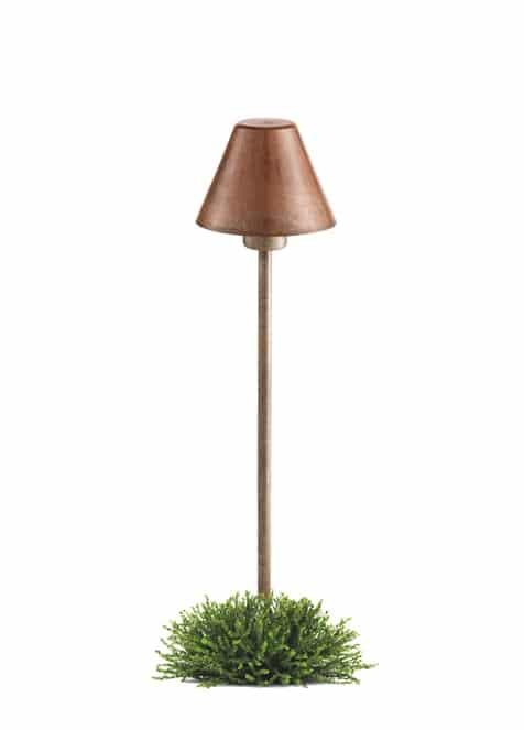 Il Fanale Fiordo tuinverlichting verouderd koper 261.11.OR groot