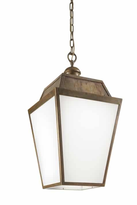 Plafondlamp Quadro 262.50.OB IL Fanale hanglamp aan ketting