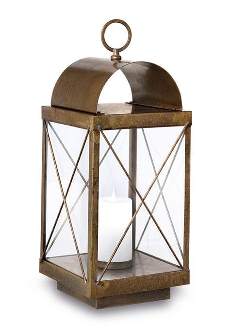 Terraslamp Lanterne Il Fanale verouderd koper 265.11.OO
