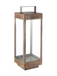 Terraslamp Lanterne Il Fanale verouderd koper 266.02.OO