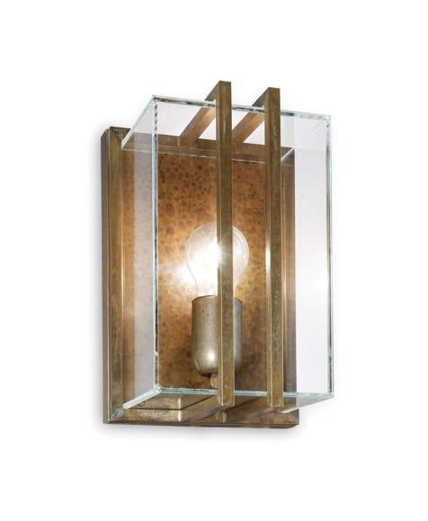 Quadro wandlamp Il Fanale 262.07.OT verouderd koper