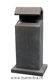 Comfort brievenbus beton antraciet