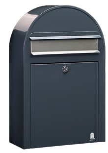 Bobi classic small brievenbus wand antraciet 7016 tuinextra