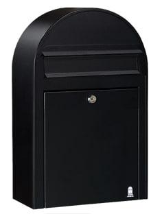 Bobi classic small brievenbus wand zwart 9005 tuinextra