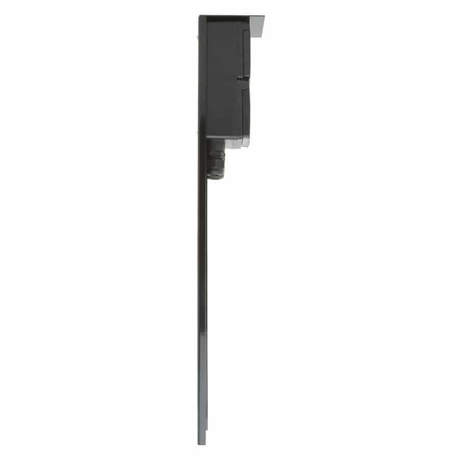 stopcontact paaltje zwart dubbele wartel niko tuin tuinextra