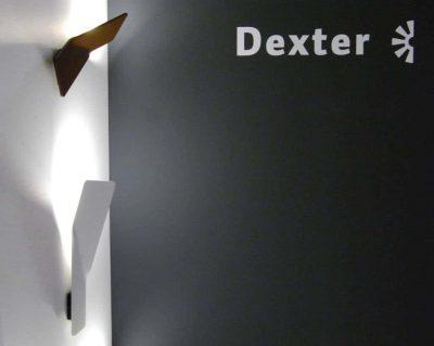 Bent wall wandlamp links Dexter buitenlampen