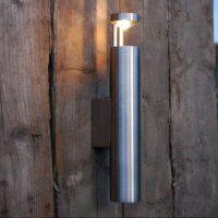 Torch B wandlamp RVS Dexter lighting buitenlampen