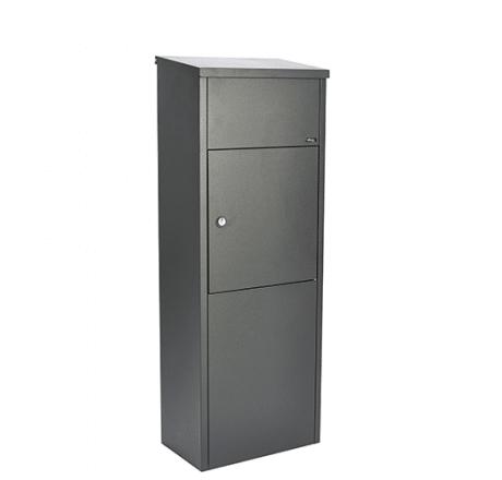 pakketbrievenbus allux 600 antraciet of zwart tuinextra pakketjes
