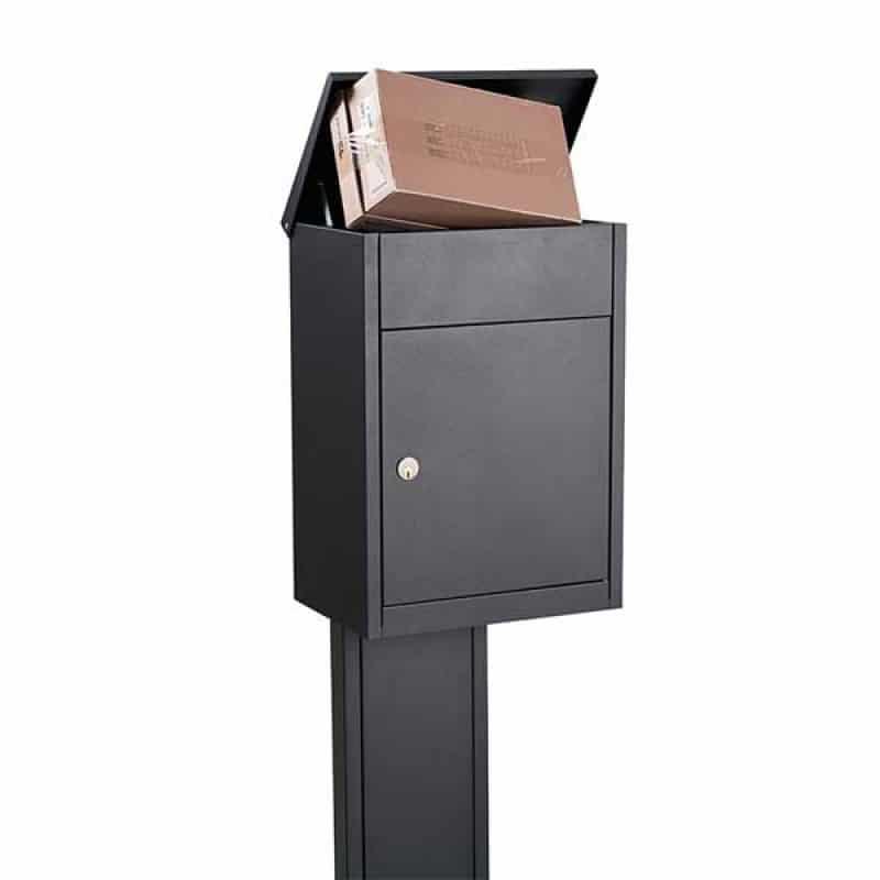 pakketbrievenbus allux 500 antraciet of zwart tuinextra pakketjes