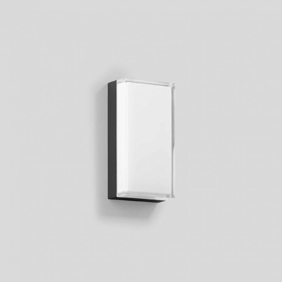 360 buitenlamp led rechthoekig grafiet of zilvergrijs tuinextra