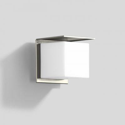 Buitenlamp vierkant rvs 404 tuinextra wandlamp