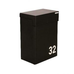 eSafe shopperbox digital wandbrievenbus pakketjes zwart TuinExtra