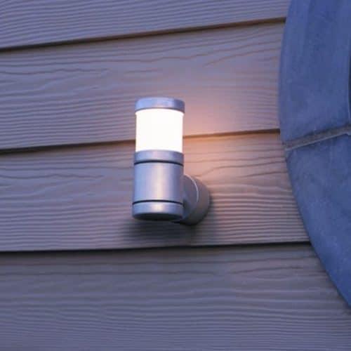 Buitenlamp Oni blank aluminium stoer tuinextra industriele buitenlampen