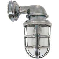 Buitenverlichting brooklyn buitenlamp antiek zilver industrieel en stoer