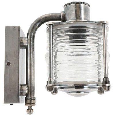 tor scheepslamp buitenlamp antiek zilver tuinextra