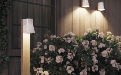 Beacon royal botania tuinverlichting buitenlamp teak wit