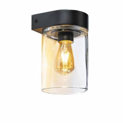 Tesla wandlamp zwart royal botania buitenverlichting
