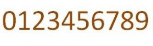 cijfers-cortenstaal tbv brievenbus roest