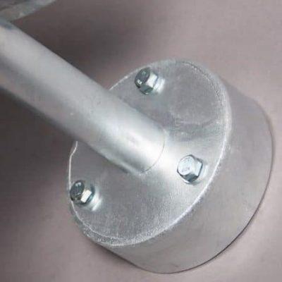 Wandlamp Stoer gegalvaniseerd staal E27 buitenlamp industrieel