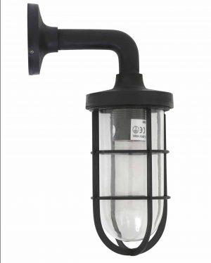 Buitenlamp tristan antiek black zwarte scheepslamp industriele buitenlamp stallamp