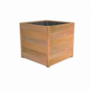 Bloembak plantenbak teak hardhout vierkant groot TuinExtra
