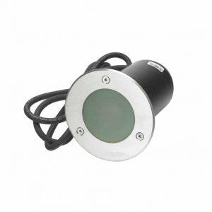 Grondspot aanbieding tuinextra rond gu10 mat glas ip68 incl. led