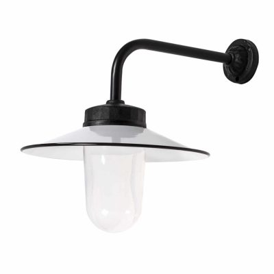 Franse stallamp haaks zwart TuinExtra buitenverlichting