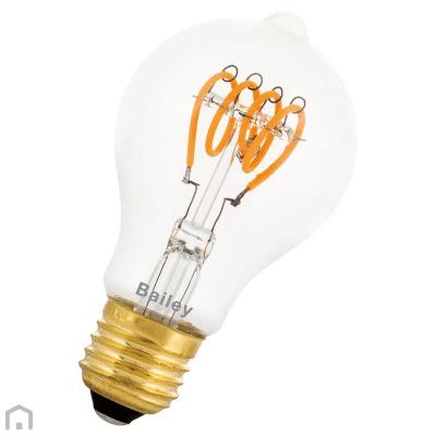 Ledlamp gedraaid 4 watt 2200 kelvin extra warmwit filament TuinExtra
