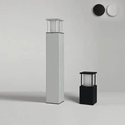 Buitenlamp Poema zwart vierkant 60 of 22 cm tuinverlichting modern TuinExtra