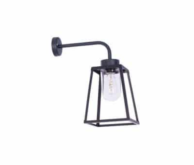 Lampiok roger pradier wandlamp antraciet zwart buitenlamp 25 jaar garantie