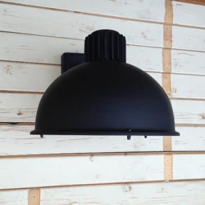 Frezoli raz 816 matzwart 816.1.600 black finish industriele buitenlamp Tuinextra