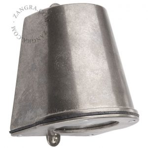 Buitenlamp 085 messing vernikkeld wandlamp downlight tuinextra