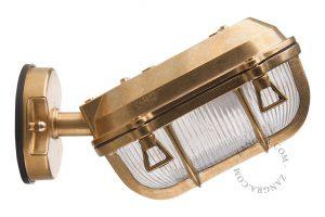 Buitenlamp messing 020 wandlamp industrieel tuinextra