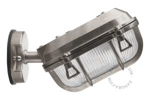 Buitenlamp messing vernikkeld 020 wandlamp industrieel