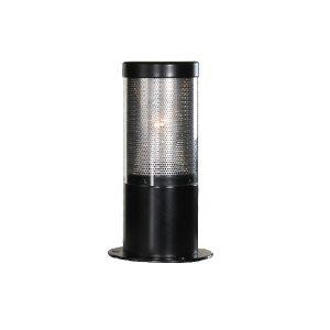 Buitenlamp lumare 1330 25 cm zwart rond franssen buitenverlichting