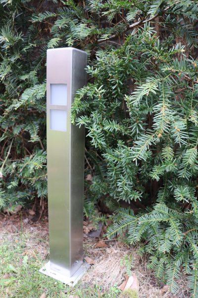 Buitenlamp oslo roestvrijstaal rvs tuinverlichting padverlichting tuinextra