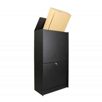 Esafe pakketbrievenbus Dropbox medium post en pakketten zwart tuinextra