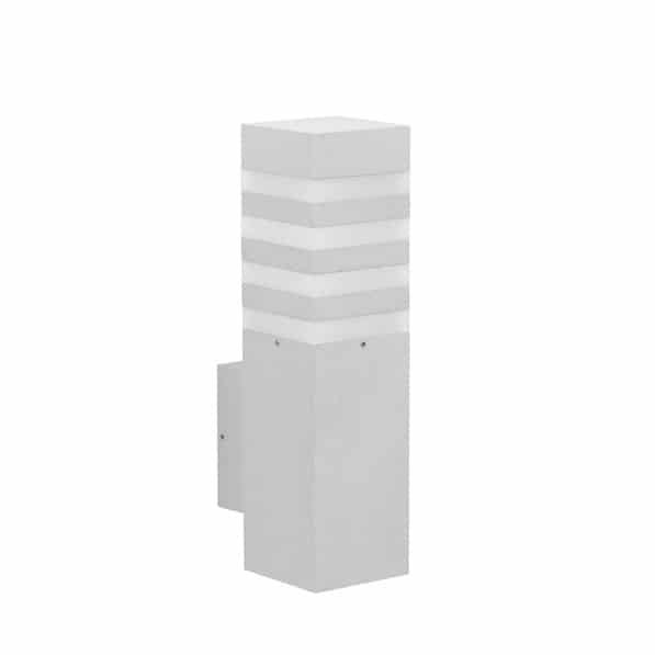 Wandlamp 660285 albert leuchten zilvergrijs tuinextra