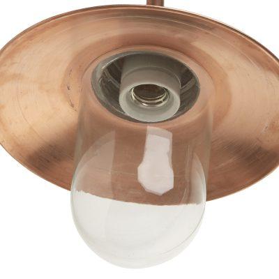 Stallamp Leeuwarden koper tuinextra buitenlamp en Kaatsheuvel