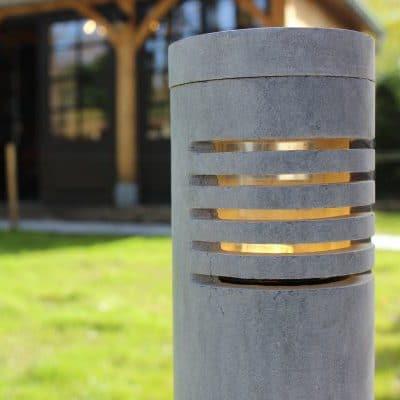 r65 l arduinsteen rond hardsteen tuinverlichting buitenlamp