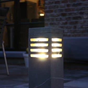 arduinsteen hardstenen buitenlampen Tuinextra kaatsheuvel vierkant
