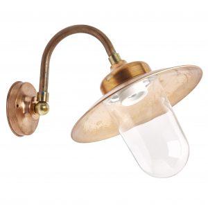 buitenlamp stallamp venlo koper tuinextra